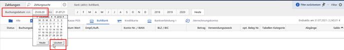 Bankingimport - Lösung1 Bild1