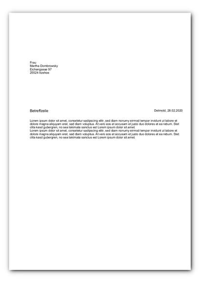 Brief ohne Sachbearbeiter_faq