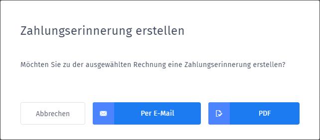 Mail oder PDF